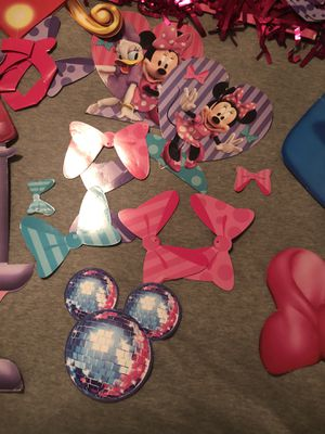 Minnie Mouse Birthday Decorations for Sale in Bolingbrook, IL