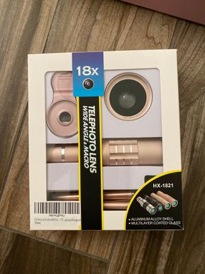 Camera lens for mobile phone for Sale in Chicago, IL