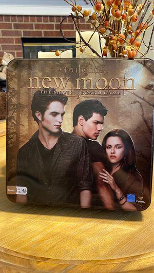 The Twilight saga: New moon board game for Sale in Dallas, TX