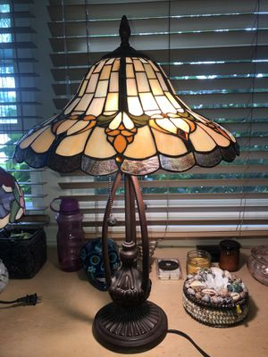 Antique Glass-like Mosaic Lamp for Sale in Los Angeles, CA