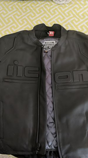 Icon motorcycle jacket for Sale in MONTE VISTA, CA