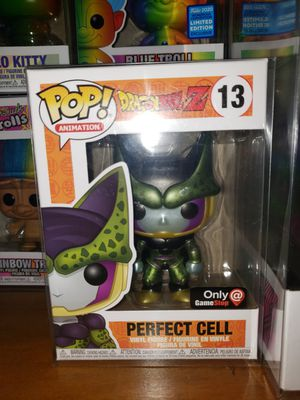 Dbz pops Perfect Cell, Super Hercule, Beerus! for Sale in Los Angeles, CA