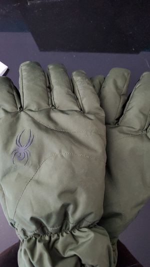 Spyder snow gloves size large for Sale in Costa Mesa, CA