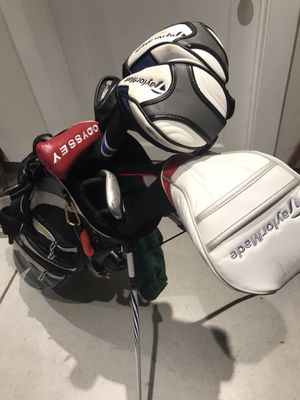 Complete golf set (Callaway, TaylorMade, Odyssey) -$550 great condition for Sale in San Francisco, CA