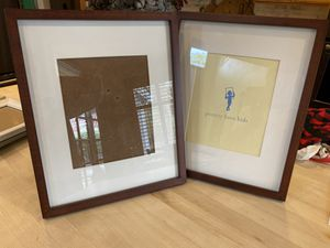 Set of two Pottery barn kids frame with Matt picture opening is for an 8 x 10 photo for Sale in Bothell, WA