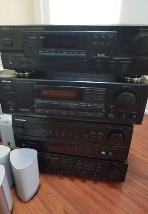Home stereo receiver amplifier Bluetooth optional for surround sound speakers for Sale in Long Beach, CA
