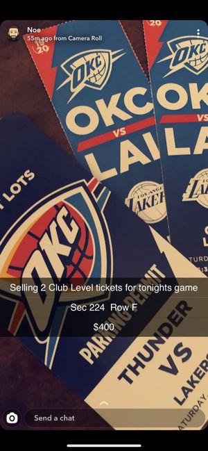 Thunder tickets for Sale in Oklahoma City, OK