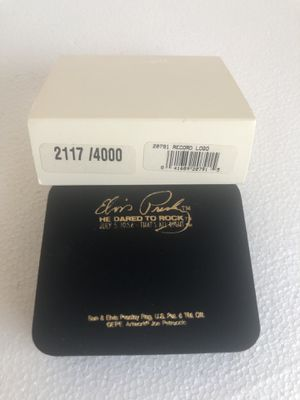 Elvis Presley He Dared to Rock Limited Edition Zippo 2117 4000 (Empty Box Only) for Sale in Tampa, FL