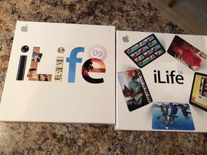 Apple software iLife 08 and 09 MB015Z/A MB966Z/A for Sale in Wheeling, IL