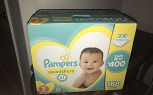 Pampers swaddlers for Sale in Clearwater, FL