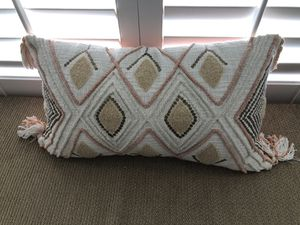 Orange and brown decoration pillow for Sale in Tarpon Springs, FL