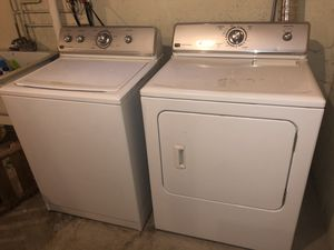 washer and dryer set for Sale in Saginaw, MI