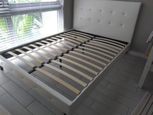 NEW FULL SIZE BED FRAME MATTRESS SOLD SEPERATELY AVAILABLE FOR DELIVERY for Sale in Fort Lauderdale, FL