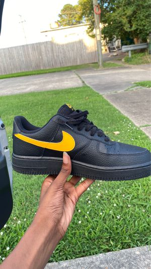 Yellow swoosh Air Force for Sale in Norfolk, VA