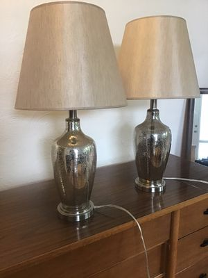 Mercury Glass Lamps for Sale in Lacey, WA