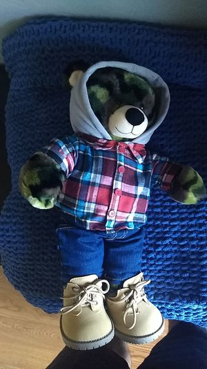 Limited edition build a bear teddy bear for Sale in Pleasanton, CA