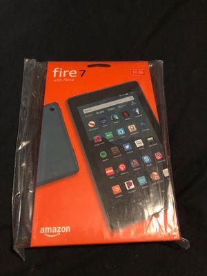 New amazon fire 7 tablet with Alexa for Sale in San Bernardino, CA