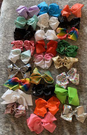 26 Jojo Siwa bows for Sale in Portland, OR