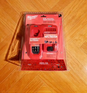 Milwaukee M18 M12 Rapid Charger (48-59-1808) for Sale in Chula Vista, CA