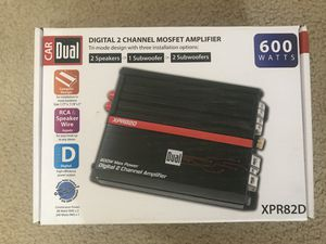 Amplifier (double channel DUAL) for Sale in Cary, NC