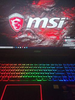Msi Gaming Laptop for Sale in Escondido,  CA