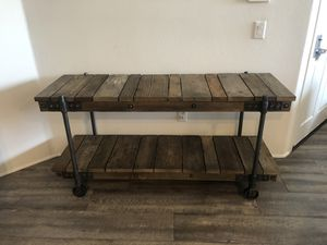 Pottery Barn Wood Console Table for Sale in Los Angeles, CA