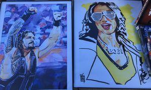 Roman Reigns Picture & Sasha Banks for Sale in Des Plaines, IL