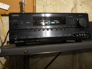 Very nice and heavy onkyo receiver with 3 HDMI for Sale in Saint Ann, MO