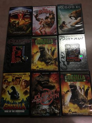 Package 10 of the monster movies for Sale in Lampasas, TX