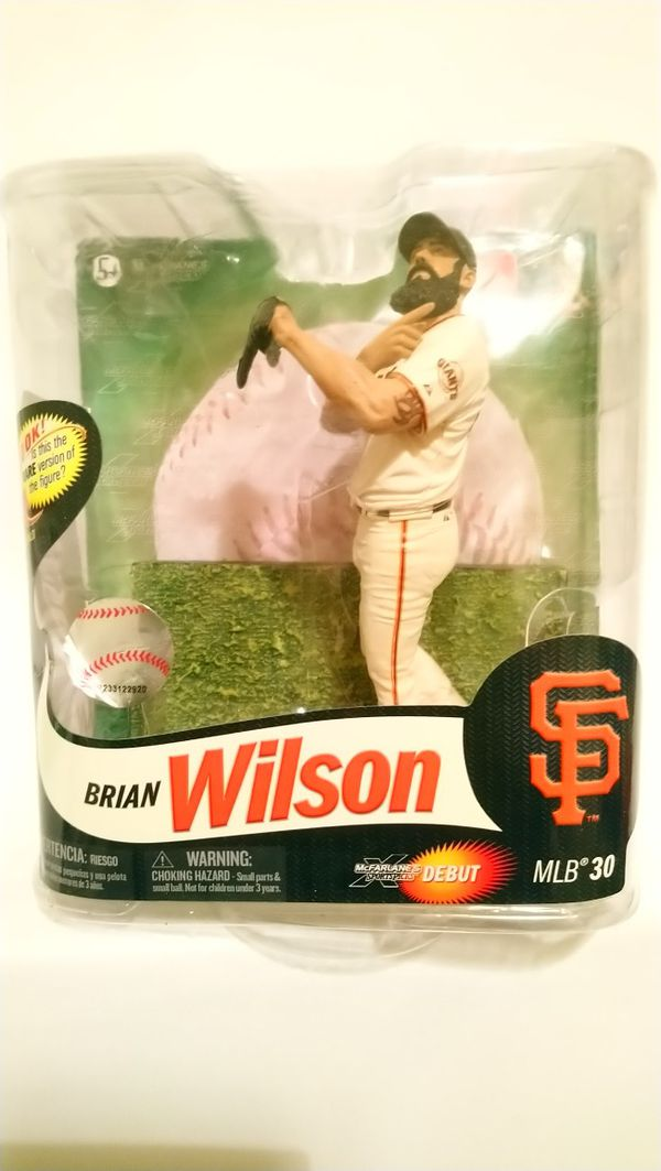 McFarlane Toys Series 30 MLB Brian Wilson Action Figure 2012