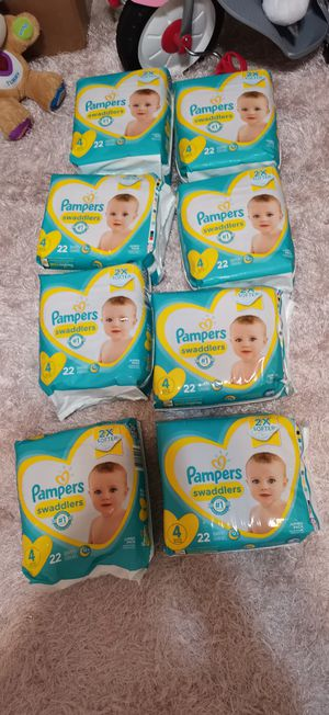 Pampers size 4 for Sale in Denton, TX