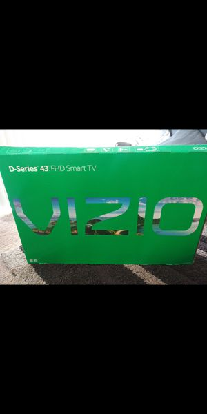 "New VIZIO 43"" FHD D-Series Crystal Clear Smart LED with Built In Chromecast $230 obo for Sale in Ontario, CA"