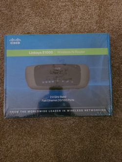 Linksys E100 Wireless N Router New (60613) for Sale in Chicago, IL