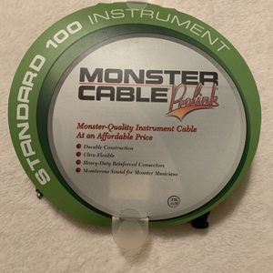 """21' Monster Prolink 1/4"""" Instrument Cable for Sale in El Cajon, CA"""