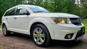 2012 Dodge Journey CREW*AWD*3rows*Leather*moon roof*Every options available*2 elderly Owned*92k Miles*Runs Amazing* for Sale in Cuyahoga Falls, OH