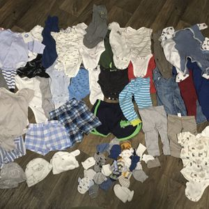 Baby Boy Clothes (0-6) Months for Sale in Fort Lauderdale, FL