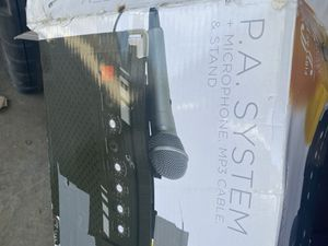 PA system for Sale in Monterey Park, CA