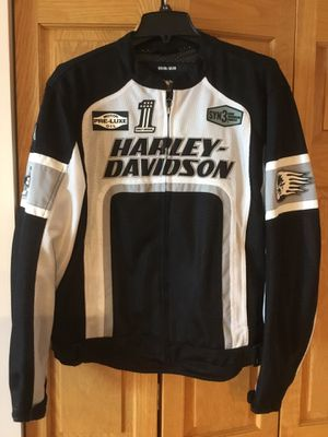 Men's Harley Davidson Breathable Motorcycle Jacket Size M for Sale in Chicago, IL