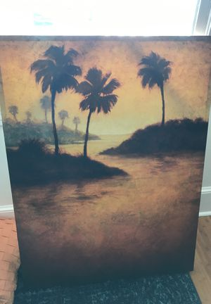 Beach canvas for Sale in Tampa, FL