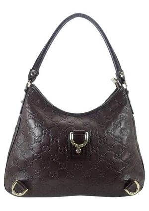 Gucci Island Abby Guccissima Brown Leather Hobo Bag for Sale in South Attleboro, MA