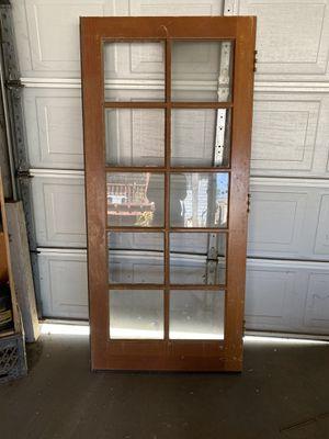 door wood very solid for Sale in Lindsay, CA