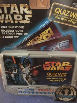Unopened 90's Star Wars Quiz for Sale in Cheyenne, WY