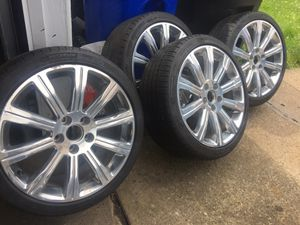 "Cadillac ATS 18"" chrome rims OEM, GM for Sale in Cleveland, OH"