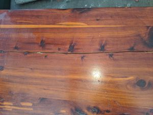 60+ yr old cedar chest. Beautiful wood..crack in top and needs new hinge...Would be a gorgeous redo, and needs a new home. for Sale in Phoenix, AZ