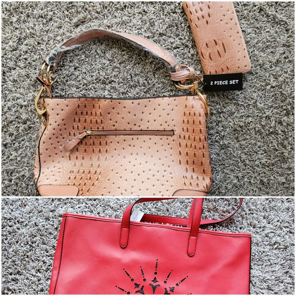 New with tags! 2 bags /purses and 1 wallet