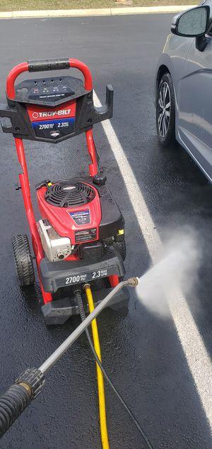 Troy bilt presure washer 2700 psi for Sale in Herndon, VA