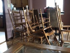 High Quality Kitchen Table Set with Six Chairs for Sale in Denver, CO