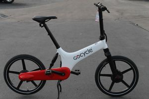 Sale Today! BRAND NEW Electric GOCYCLE GS folding bicycle Best Looking and highest graded ebike! Has less than 1 mile on ODOMETER, 20MPH for Sale in Burbank, CA