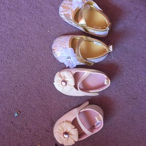 Baby Girls Shoes (Size 9-12 months). for Sale in Westminster, CA
