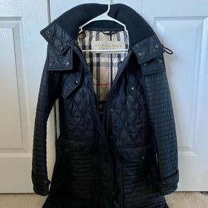 Burberry Black Quilted Women's Jacket Outerwear for Sale in Lynnwood, WA